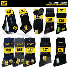 CAT SOCKEN CATERPILLAR Herren Arbeitssocken Work Business Sneaker Quarter Socks