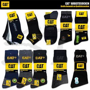 CAT SOCKEN CATERPILLAR Herren Arbeitssocken Work Business Thermo Quarter Socks