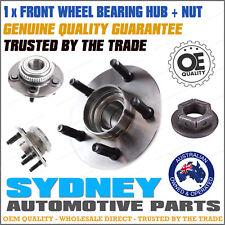 1 x Front Wheel Bearing Hub + NUT Ford AU BA Falcon Fairlane Fairmont XR8 99-10