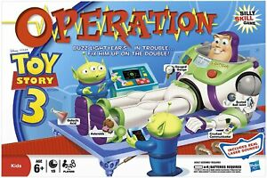Spare Body Pieces & parts For Toy Story 3 Operation Game 2009 Version.....CHOOSE