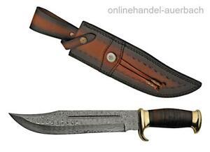 RITE EDGE DM-1204 Messer Damast Damaszener Bowie