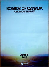 BOARDS OF CANADA Tomorrow's Harvest Ltd Ed HUGE New RARE Release Poster Display!