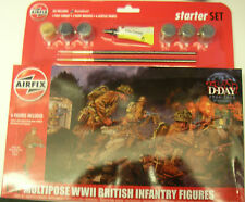 Airfix A55211 - Multipose WWII British Infantry (Starter Set)   1:32 Plastic Kit