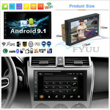 "7"" Android 9.1 2Din 2G+32G Quad-core Car Stereo Radio GPS Wifi 3G 4G BT AUX DAB"