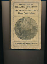 Johnson County IN Farm Directory 1920 Indiana  Franklin