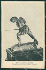 Torino città Reale Armeria Militari Bersaglieri cartolina QT5432
