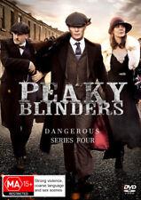 Peaky Blinders Season Series 4 (2 Discs) - Cillian Murphy DVD R4 New!