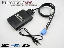 INTERFACE MP3 USB AUDIO AUTORADIO COMPATIBLE RENAULT LAGUNA 2001 - 2007