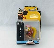 "World of Nintendo Super Mario - Dixie Kong 2.5"" Collectible Figure -  Jakks"