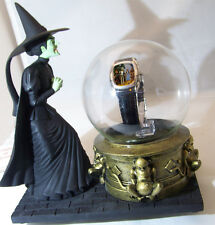 Wizard of Oz Watch Witch with Glass Globe Warner Bros1998 Limited Edition