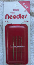 Wool needles, 4 needles. new, unused