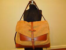 COACH 70790 men's shoulder bag camel Bleecker suede Messenger