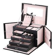 Rowling Schmuckkästchen Schmuckkoffer mit Mini-Box Schmuckkasten 5 Schubladen