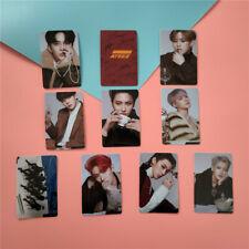 10pcs/set Kpop ATEEZ ACTON TO ANSWER Album HD Photocard Card Stickers