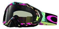 Oakley Men's Mayhem Pro Mosh Pit MX Goggles - Neon/Dark Grey Lens (OO7051-15)