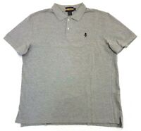 Rugby Ralph Lauren Skull And Bones Gothic R Polo Shirt Grey Size XL Mens