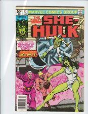 The Savage She-Hulk Comic Book #13 & #14 Marvel Comics 1981 NM 9.4 Sharp CoLor!