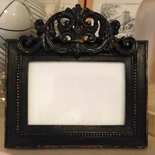 "Photo Frame French Provincial Photo Frame Shakespeare Black  6""x 4"" Brand New"