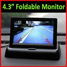 "4.3"" TFT 16:9 Foldable LCD Screen Monitor for Car Rear Reverse Rearview Camera B"