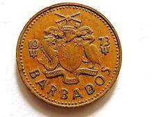 1973 Barbados Five (5) Cents Coin