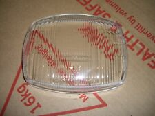 lambretta gp/dl head light glass,cev new
