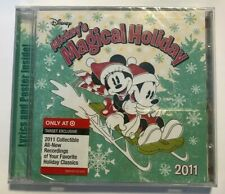DISNEY Mickey's Magical 2011 Holiday Music CD New FREE SHIPPING Minnie SEALED