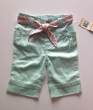 Girls Bleached Aqua Pants -  12M NWT