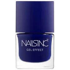 Nails Inc GEL Effect Full Size 8ml Old Bond Street Deep Blue