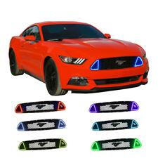 RED DRL Multi-Color grille LED Light kit For Ford Mustang GT 2015-2017