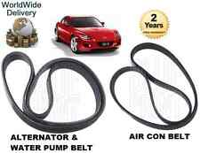 FOR MAZDA RX8 1.3 2.6 2003-> ALTERNATOR FAN WITH WATER PUMP BELT & AIR CON BELT