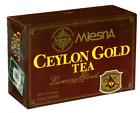 Mlesna pure Ceylon tea, Gold luxury blend 100 Tea Bags 200g X 02 packs