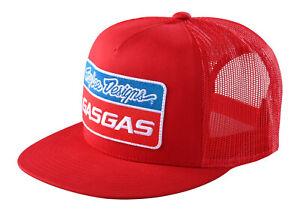 Troy Lee Designs Team GasGas Snapback Stock Hat - Red