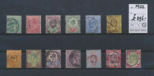 LM81092 Great Britain 1902 king Edward VII classic lot used cv 296 £