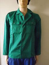 Stud Fastened Work Wear Jackets – Size SMALL -Green