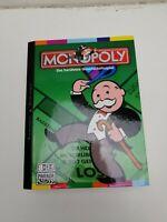 Monopoly von Parker seltene Buchausgabe Brettspiel Gesellschafts Familie RAR