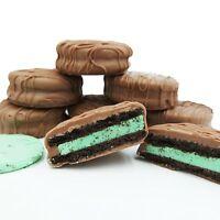 Philadelphia Candies Milk Chocolate Covered Mint Creme OREO® Cookies, 8 Ounce
