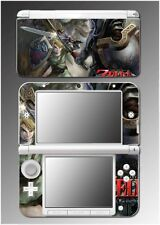 Legend of Zelda Twilight Princess Video Game Skin Cover 4 for Nintendo 3DS XL