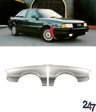 NEW AUDI 80 B3 1986 - 1991 FRONT WING FENDERS COVERS PAIR SET LEFT N/S RIGHT O/S