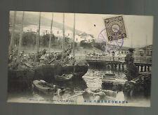 1910 IJPO Japan RPPC Postcard cover Port Arthur to Prague Czechoslovakia