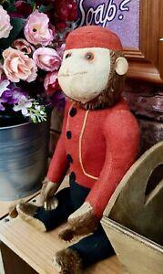 "Schuco Vintage 13"" Yes/No Bellhop Monkey"