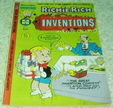 Richie Rich Inventions 2, VF (8.0) 1978, 50% off Guide!