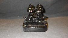 Vintage Empress Black Poodle Ashtray