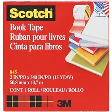 Scotch Binding Book Tape 845 , 2