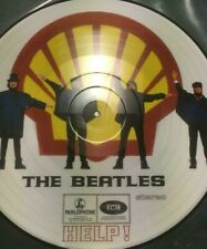 The BEATLES  HELP  PICTURE DISC LP With SHELL Background   Limited Edition