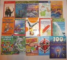 Lot of 15 Childrens Books,Magic Tree House,Beverly Cleary,Alvin the Chipmunks,++
