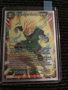 Dragon Ball Super Card Game SS Son Gohan Glimpsing Potential Pre-Release NM