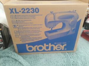 USED ONCE BROTHER XL-2230 SEWING MACHINE - IN ORIGINAL BOX WITH MANUAL