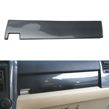 For Honda CR-V 2007-2011 Console Passenger Side Panel Trim Carbon Fiber Color