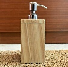 Hand Carved Natural Stone Dispenser for Liquid Soap Antique Style