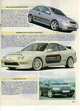 Z82 Ritaglio Clipping 1998 Opel Astra Steinmetz Honda Integra R Nippon Autosport